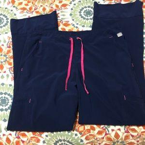 Smitten Navy Scrub Pants